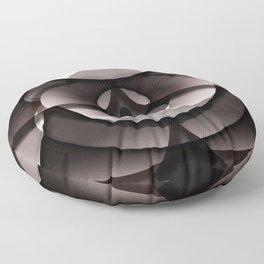 Overlay Doughnut Box Floor Pillow