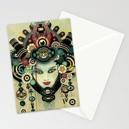 Urban Faery - Earth wind and fire Stationery Cards
