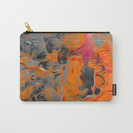 Wall art on canvas, Original abstract acrylic painting, Large wall art canvas, Modern Abstract Paint Carry-All Pouch