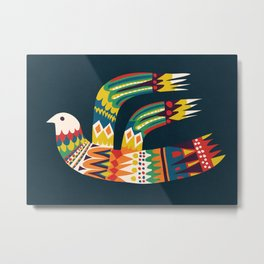 Native Bird Metal Print