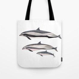 Fraser´s dolphin Tote Bag