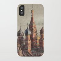 moscow iPhone & iPod Cases featuring The Snail's Daydream by Eric Fan