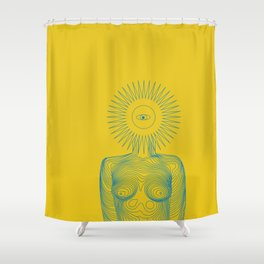 Daughter of Ra Shower Curtain