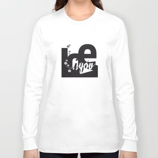 I Love You 3 Long Sleeve T-shirt