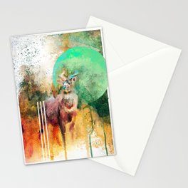 Artiful Mountain Nyala Stationery Cards
