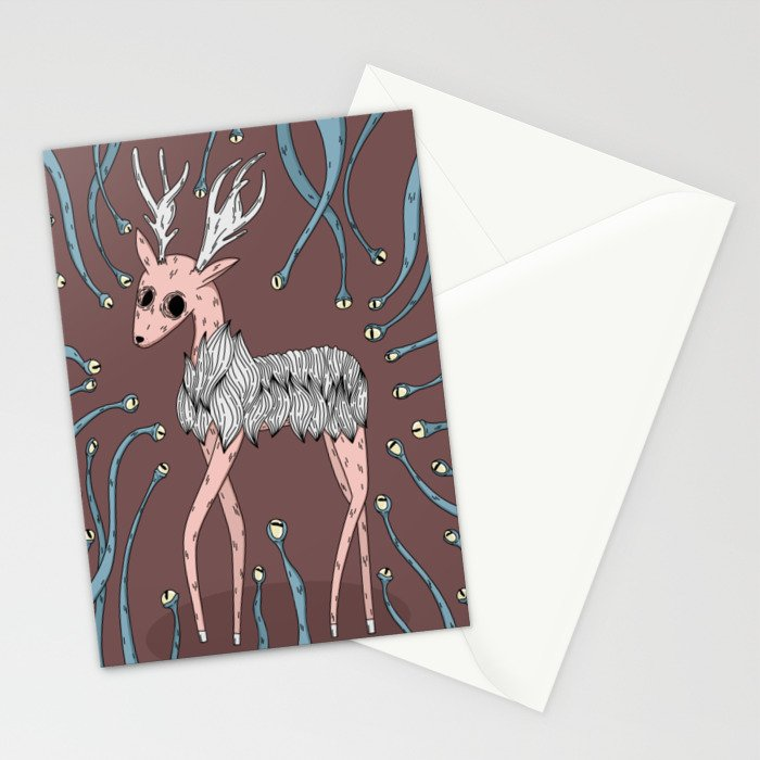 What you can't see Stationery Cards