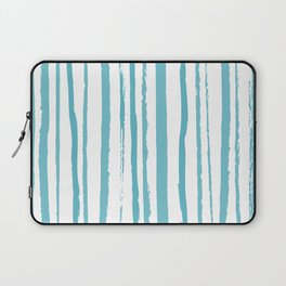blue streaky pattern Laptop Sleeve