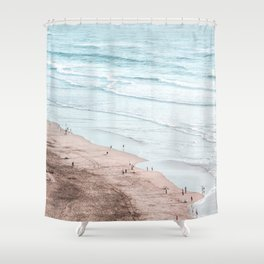 lifted Shower Curtain