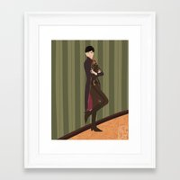 dishonored Framed Art Prints featuring Emily Kaldwin by Altlas