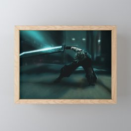 Cloud Strife, FFVII Remake Framed Mini Art Print