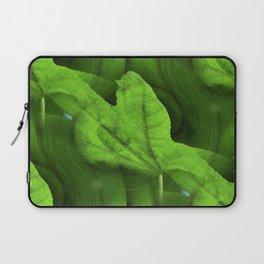 Seamless Sweetgum Swirl Laptop Sleeve