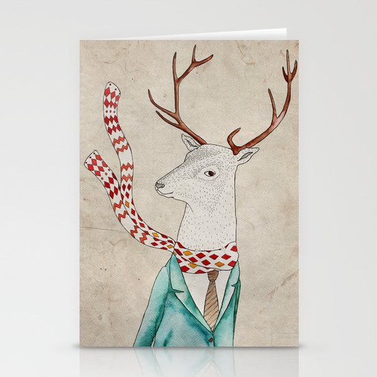 Dear deer. Stationery Cards