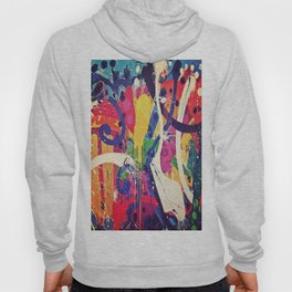 Street Art Paint Splatter 2 Hoody