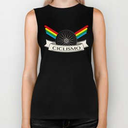 Ciclismo Cycling Italian Retro Vintage Bicycling Biker Tank