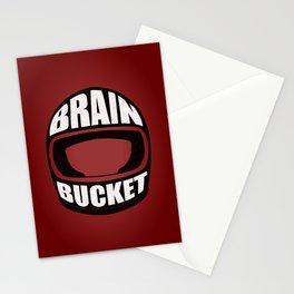 Brain bucket Stationery Cards