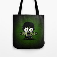 hulk Tote Bags featuring Hulk by Thorin