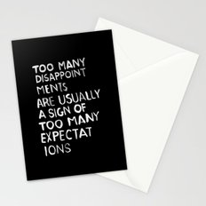 Disappointments /2/ Stationery Cards