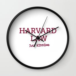 Harvard Law Wall Clock
