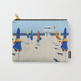 Beach Day in Deauville Carry-All Pouch