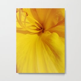 Gold Flower Petal Photo #society6 #photography Metal Print