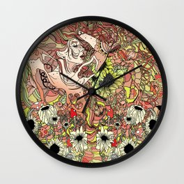 Comes in Three Wall Clock