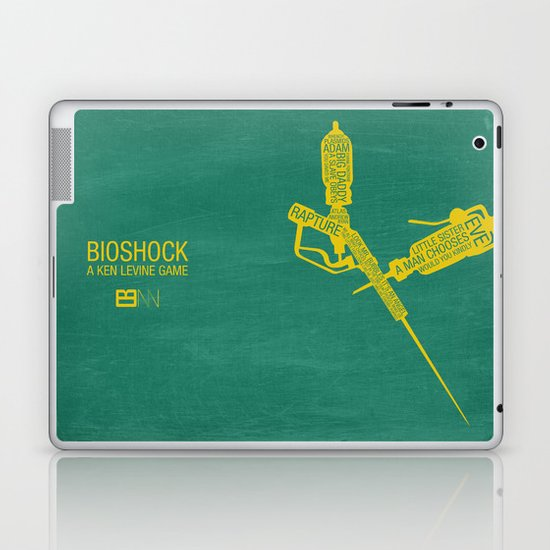 Bioshock Typography Laptop & iPad Skin