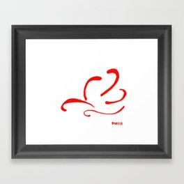By the Way Framed Art Print