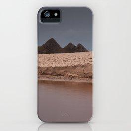 Sand dunes at Three Cliffs Bay iPhone Case