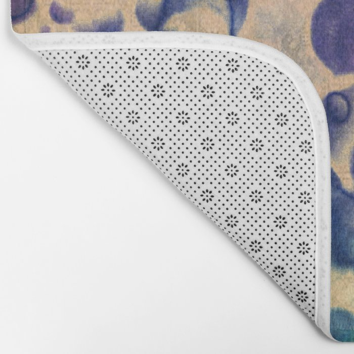 Under The Microscope Abstract Bath Mat