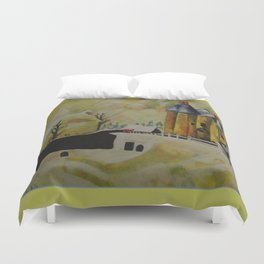PtLY 1 Ode to Chagall Duvet Cover