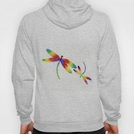 Little Rainbow Dragonflies Hoody