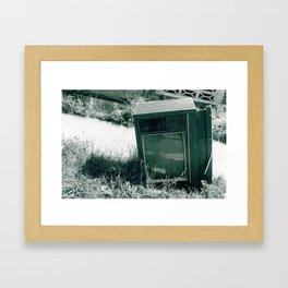 Thrown Asunder  Framed Art Print