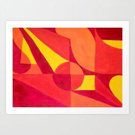 Formas Art Print