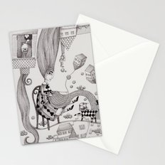 Falling Up Stationery Cards