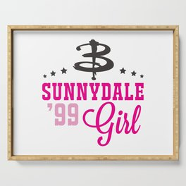 Sunnydale Girl Serving Tray