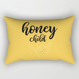 Honey child Rectangular Pillow