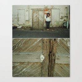 Seams and Stills II Canvas Print