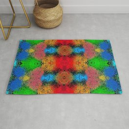Colorful Goa Painting Rug