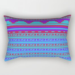 Mexican Aztec ethnic pattern Rectangular Pillow