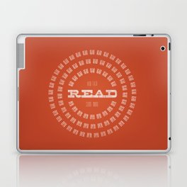 Read Read Read (and then read some more) Laptop & iPad Skin