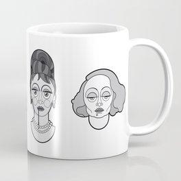 Gloria Swanson - B&W'S Divas Coffee Mug