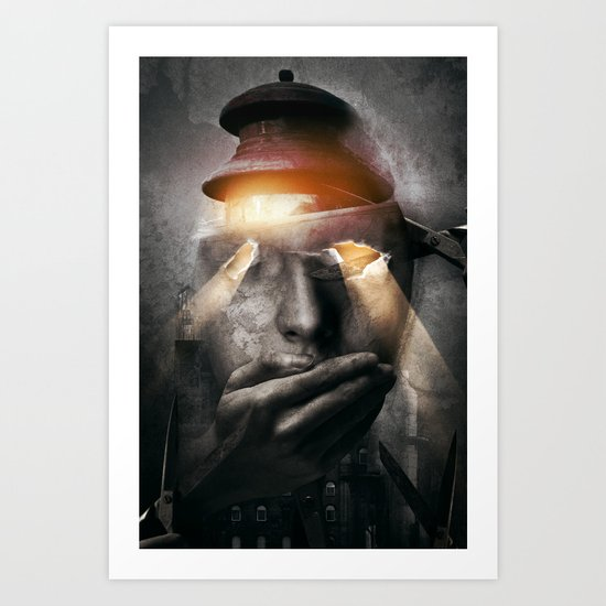 The Silent One Art Print