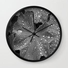 Rained on Me Wall Clock