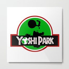 Yoshi Park Metal Print