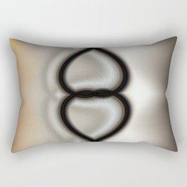 Linked Hearts Rectangular Pillow