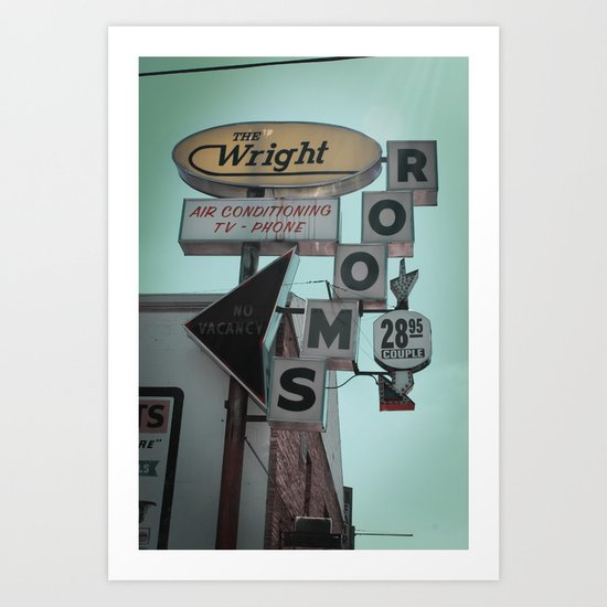 The Wright Art Print