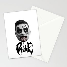 Black Metal Robbie Stationery Cards