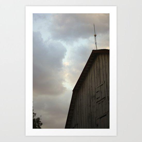 Dallas Barn Art Print