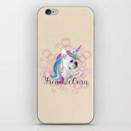 Frenchie Unicorn iPhone Skin