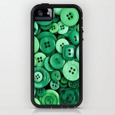 Button Green Adventure Case iPhone (5, 5s)